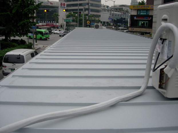 韓国 駐輪場